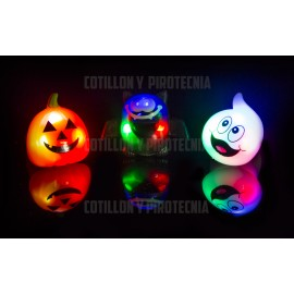 Anillos Led Luminosos Halloween X10