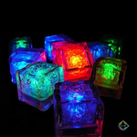 Cubos de Hielo luminosos Led X12