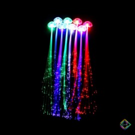 Extensiones luminosas led x10