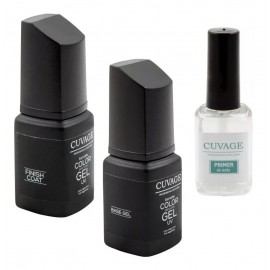 Esmalte Uñas Semipermanente Cuvage Uv Base Top Coat Primer